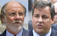 Corzine_Chris Christie