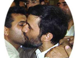 Ahmadinejad_Kissing