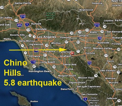 UPDATE I: Earthquake downgraded to a 5.4. So far no reports of major ...