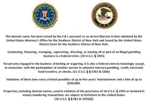 FBI_Poker Disclaimer