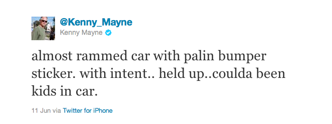 Tweet_Kenny Mayne_Palin