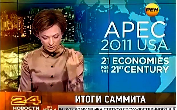 Russian news anchor fired_telegraph