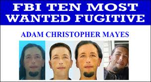 Adam Mayes_FBI Most Wanted