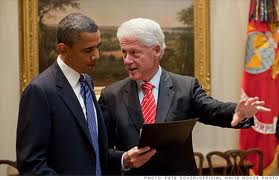 Obama_Bill Clinton