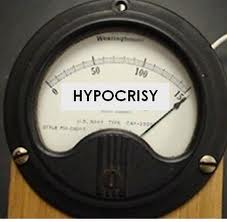 Hypocrisy Meter