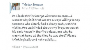 Zimmerman_offensibe FB post