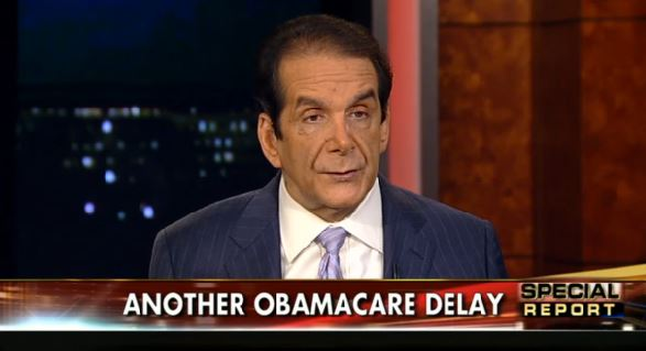Krauthammer_Obamacare Delay_FOX-screengrab