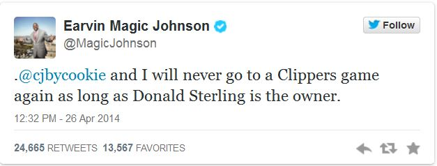 Tweet_Magic Johnson