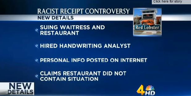 Racism_Red Lobster_receipt