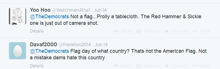 Flag Day Tweets