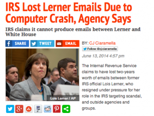 IRS_Lerner_emails lost