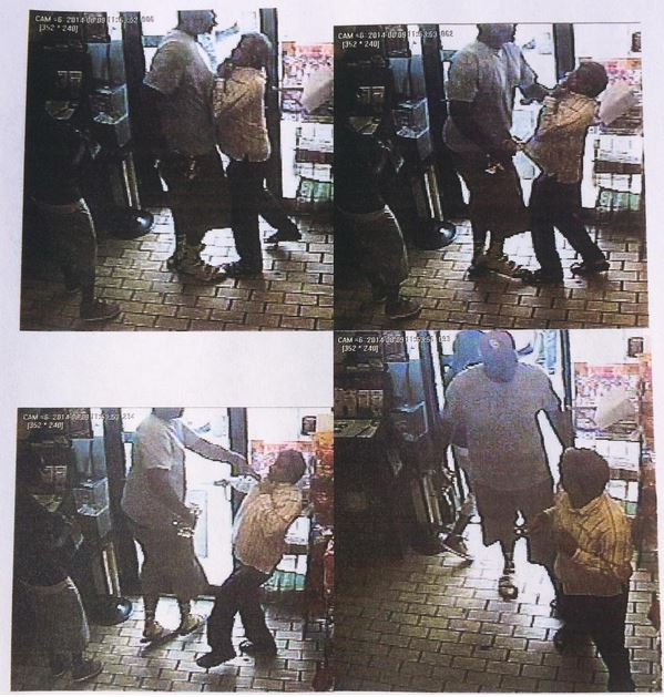 Ferguson Incident report pic robbery