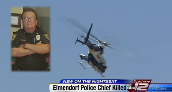 Police Chief killed-video