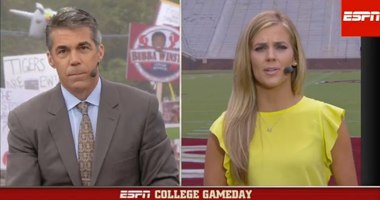 ESPN College Game Day_Samatha Ponder