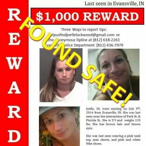 Joelle Lockwood Found Safe