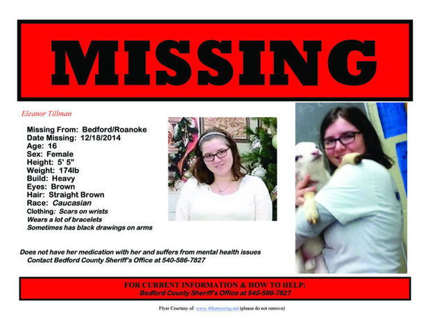 Eleanor Tillman_missing