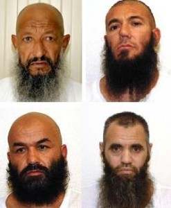 GITMO detainees sent home to Afghanistan