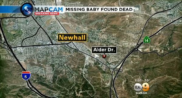 Missing Baby-Newhall found dead