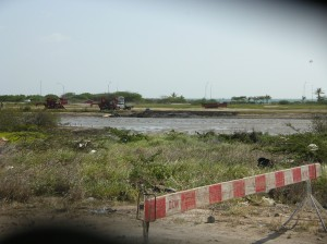 Aruba_Draining Pond