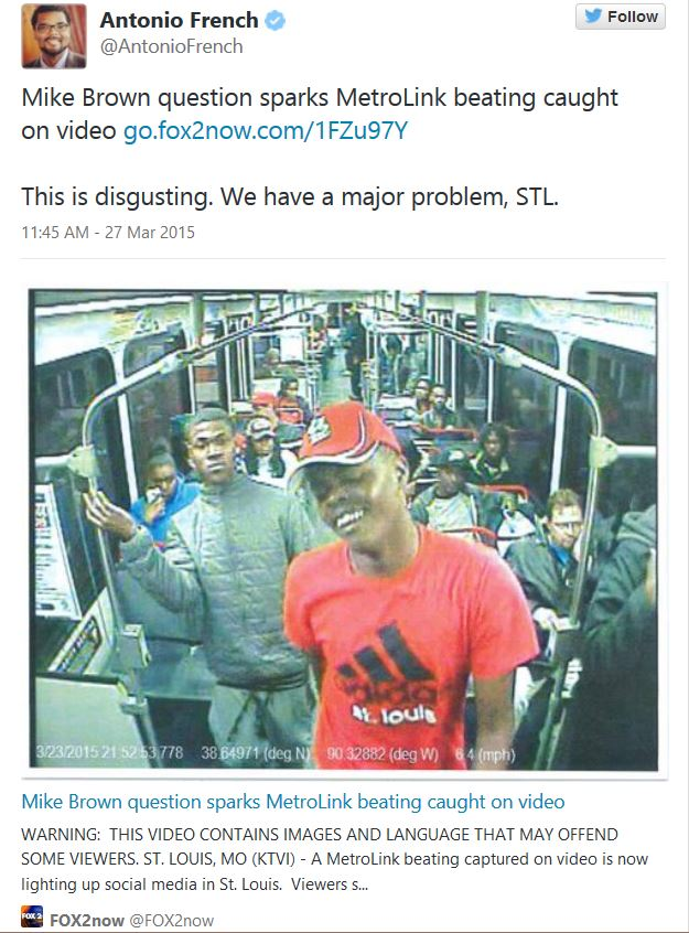 Assault St Louis Metro
