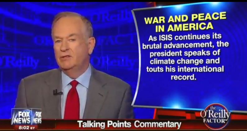 Bill OReilly_TP Obama ISIS