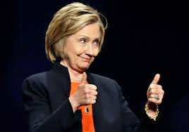Hillary Clinton_thumbs up