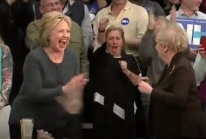 Hillary Clinton laughs SPIH