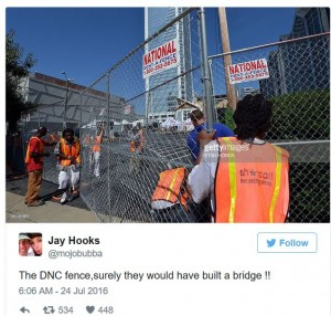 DNC Philly Fence2