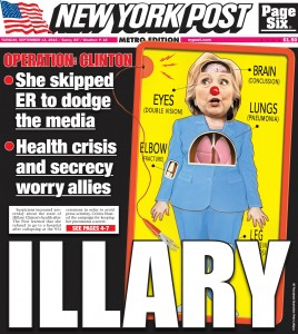 Hillary Clinton_NY Post_Illary