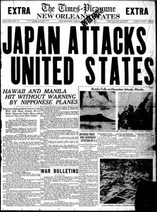 Pearl Harbor-newspaper