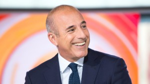 Image: Matt Lauer on TODAY