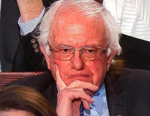 Bernie Sanders_reaction at 2019 sotu